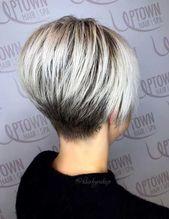 Meilleures coupes de cheveux wedge courtes pour les femmes chics