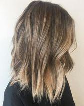35 idées de couleur de cheveux Balayage pour Brunettes en 2019