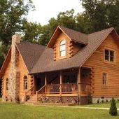 66 Best Log Cabin Homes Small