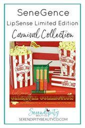 SeneGence LipSense NEW Restricted Version Carnival Assortment #lipsense #lipcolor #