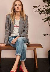 38 Look Good Casual Tenues de Printemps Chic pour Femme 2019