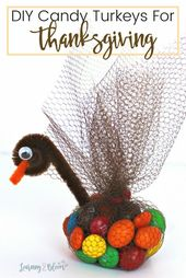 Candy Turkeys for Thanksgiving – Learning2Bloom
