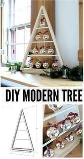 25+ Amazing DIY Rustic Farmhouse Christmas Decoration Ideas