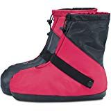 ARUNNERS Women Waterproof Shoe Covers Rain Boots Overshoes Travel Rain Gear