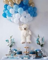 Teddy Bear Baby Shower Decoration | Unique Baby Shower