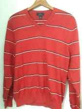 """BROOKS BROTHERS /""""1818/"""" NAVY W// RED /& BLACK NWT ARGYLE COTTON BLEND SWEATER"""