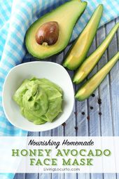DIY Honey Avocado Face Mask, I will be adding Essential Oils to mine!