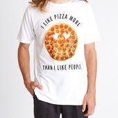 Pizza-Shirt, lustiges Shirt, Grafik Tees, Pizza-Liebhaber, Tshirt Männer, Shirts mit Sprüchen, Feinschmecker Geschenk, E