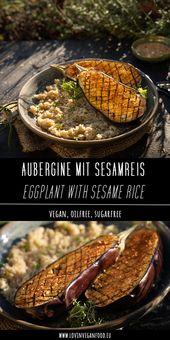 Eggplant with Sesame Rice