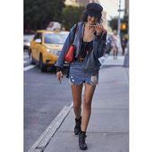 Comment porter la jupe en jean?   – Tendances mode printemps-été