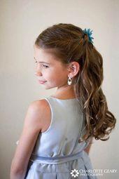 #daughters #flower #girls #Hairstyles #Kids #wedding Wedding