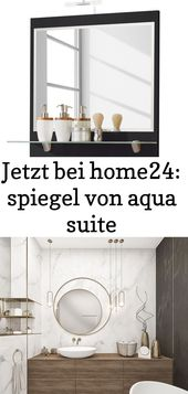 Now at home24: mirrors from aqua suite