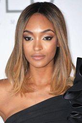 Ideen für hellbraune Haarfarbe mit Highlights direkt von Brunette Schauspielerin …