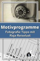 Motivprogramme Canon Überblick