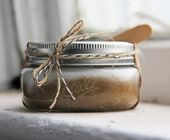 Coconut and Brown Sugar Scrub 8oz in Ball Jar | Luxury Hand Scrub, Body Scrub, Exfoliating Scrub, Wedding gift, Bridesmaid Gift, Home Decor