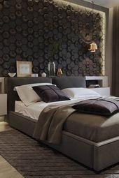 تعتبر غرف نوم مودرن هي السمة الغالبة على موضة تصاميم غرف النوم لهذا العام فبجانب جمال وأ Small Living Room Decor Modern Bedroom Modern Bedroom Decor
