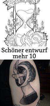 Schönes Design mehr 10 – Tattoos