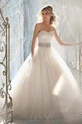Gorgeous Princess Sweetheart Tulle Lace Wedding Dress with ...