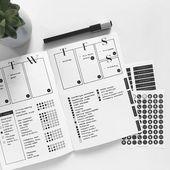 Minimalist Bullet Journal {Spreads, które zainspirują cię do przyjęcia prostego stylu