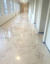 Marble Epoxy Floor Epoxy Floor Ideas With Advantages And Disadvantages In The Interior 3 Advantages Disadvantag In 2020 Flooring Epoxy Floor Smooth Concrete
