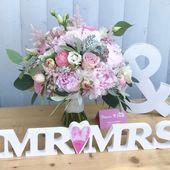 """Flowers n Joy auf Instagram: """"Atemberaubender Brautstrauß im Vintage-Landhausstil …   – Hochzeit, Wedding"""