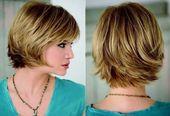 Corte de cabelo curto desfiado passo a passo com franja   – Frisur