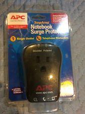 Apc Pnoteproc6 3 Port Mobile Surge Protector Laptop Phone Fax Machine Apc Surge Protector Laptop Apc