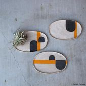 Marvelous Modernist and Graphic Ceramics From Pawena Studio.