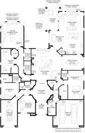 Windgate Ranch Scottsdale Cottonwood Collection Luxury New Homes In Scottsdale Az How To Plan Floor Plans House Plans