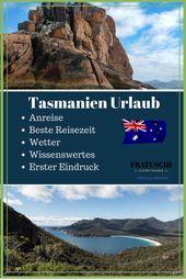 Tasmanien Urlaub Tipps – FRATUSCHI Reisemagazin
