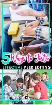 5 Methods to Foster Efficient Peer Modifying
