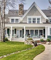 ✔99 stunning modern dream house exterior design ideas 1