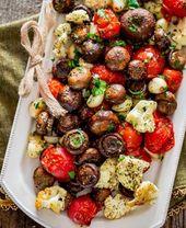Italienische gebratene Pilze und Gemüse | 16 Weih…