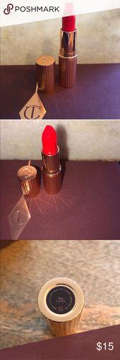Charlotte Tilbury Scorching Lips Lipstick in Inform Laura BRAND NEW, no field  Shade: Inform…