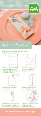 Simple et stylé : réalisez une pochette en vert menthe et rose saumon pour vos…