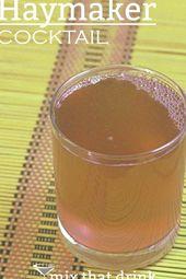 Das Rezept für ein Haymaker-Getränk kombiniert Orangen- und Limettenfruchtaromen mit Whisky und …   – whiskey drink