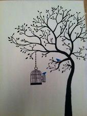 20 Ideen Zum Zeichnen Und Malen Von Baumen Baumen Ideen