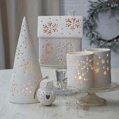 White Christmas Vintage Style – Ideen für die Dek…