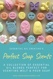 Essential oil fragrances   – Essential oils