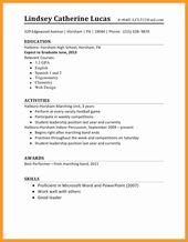 First Job Resume Template Lovely 12 13 Resume Sample For First Time Job Seeker Student Resume Template Job Resume Examples First Job Resume