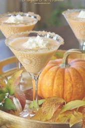 Pumpkin Pie Martini – Ein Urlaubscocktail mit den Aromen von …