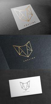 Illustrator Business Card Fox Logo. Logo Templates