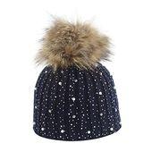Kolylong winter hat women casual thermal woolen hat knitted hat bucket hat bucket hat cap – Products