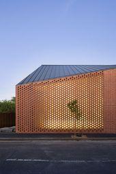 Perforierte Gebäudefassaden, die traditionelles Design neu definieren