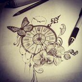 Orchideen Tattoo – Ideen, Entwürfe und Bedeutungen