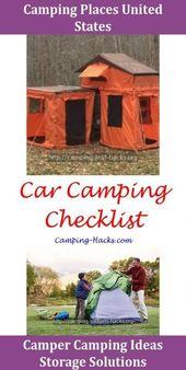 33+ Idéer för geniala campinghack The Beach