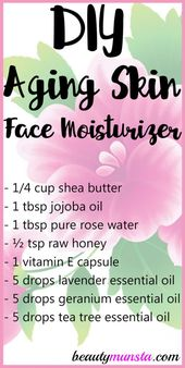 Home made Face Moisturizer for Ageing Pores and skin