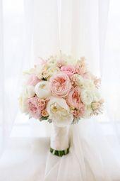 7 ähnliche Blumen wie Pfingstrosen (aber billiger) – Hochzeitssträuße – #abe …   – Brautstrauß