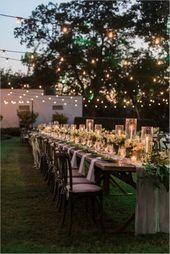 Fabulous Secret Garden Party Reception On A Budget