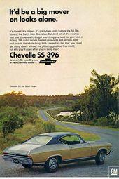 1968 Chevrolet Chevelle Ss 396 – Es wäre ein großer Motor für Looks Alone. von Digital Repro Depot   – Cars